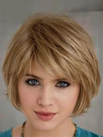 50 Medium Bob Hairstyles For Women Over 40 In 2019 Short Layered Bob Hairstyles Short Hair Styles For Round Faces Bob Hairstyles For Fine Hair