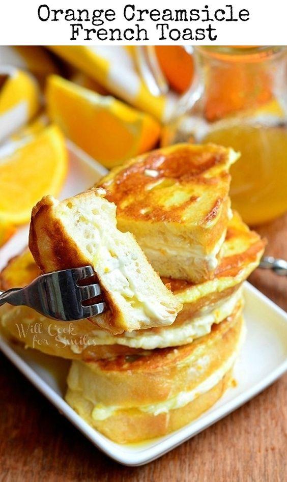 French toast, Orange creamsicle and Toast on Pinterest