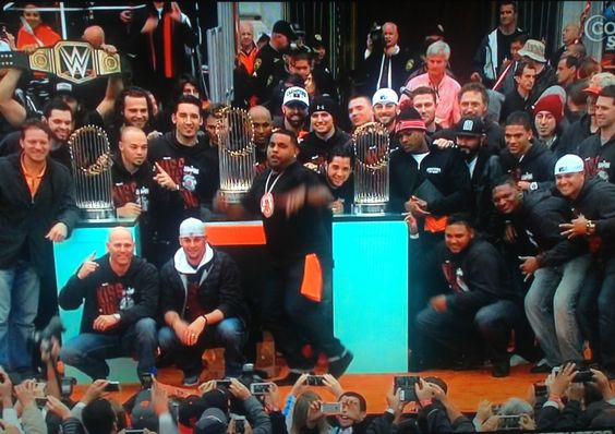 SF Giants Victory Parade 2014