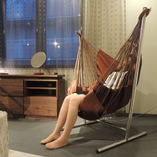自立式ハンモック 省スペースで室内でおすすめ Komforta コンフォルタ