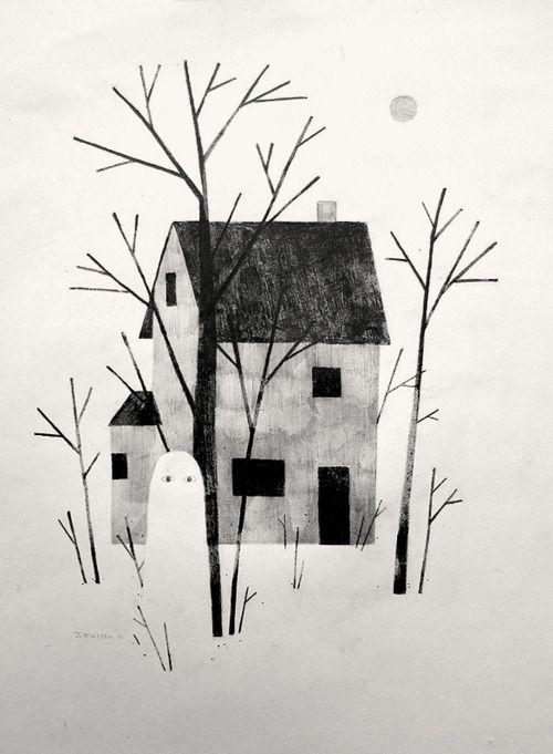 De la casa de los espiritus by Jon Klassen