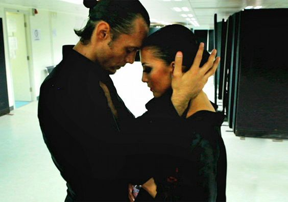 Slavik Kryklyvyy and Anna Melnikova in Ballroom Dancer. This film in now on YouTube. Haunting documentary. A must see for ballroom dancers