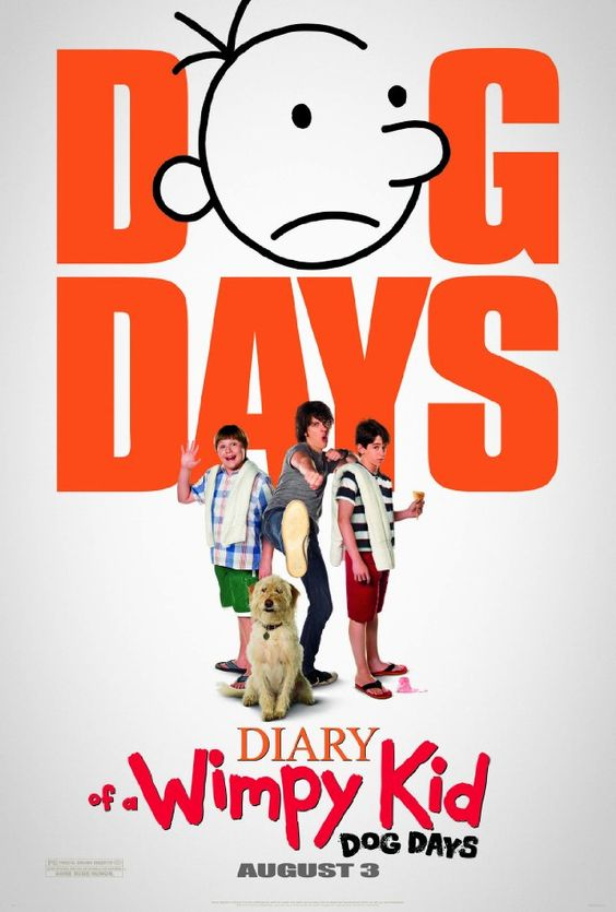 Diary of a Whimpy Kid: Dog Days: School is out and Greg is ready for the days of summer, when all his plans go wrong. What on earth is he going to do all summer?