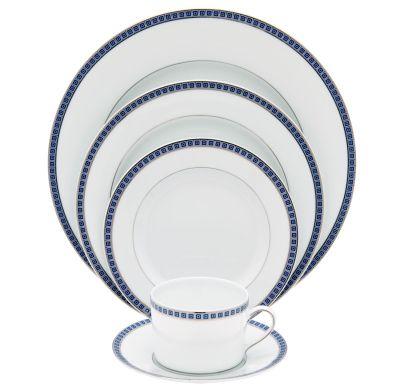 Bernardaud - Athena Platinum Navy (Available at Michael C. Fina)