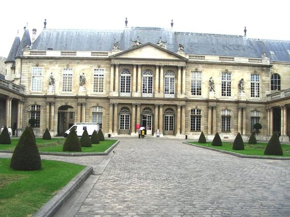 Paris Musée des Archives Nationales dans le Marais