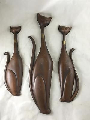 3-Vintage-Mid-Century-Modern-Sexton-Siamese-Cat-Wall-Hangings