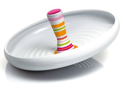 Neat - spinning-top sundries-tray by Frédéric Gooris for Alessi