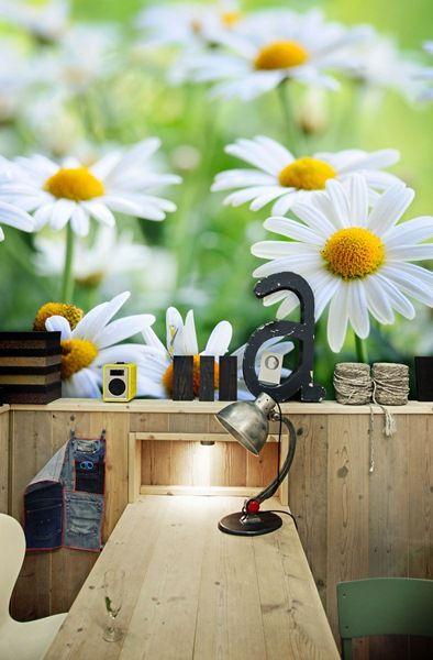 Fotomurales florales en calidad vinilo autoadhesivo - Ultimas tendencias en decoracion de paredes ...