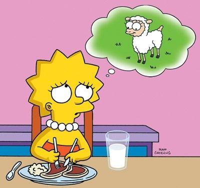 Lisa Simpson.  Decidir lo correcto