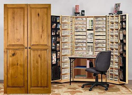 Every Creative S Dream For Art Jewelry Sbooking Craft Storage Furniture And