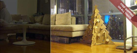 The Cardboard Christmas Tree has potential.