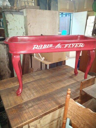 Radio Flyer coffee table