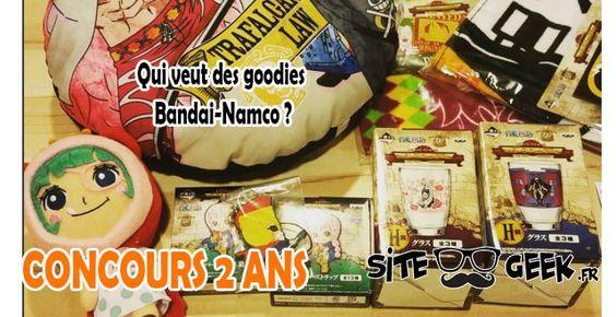 Concours #13   Qui veut des goodies Namco ?