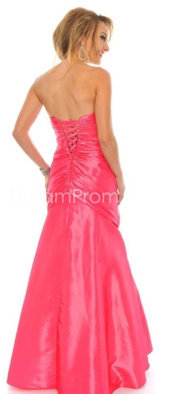 Gorgeous A-Line Sweetheart Floor-Length Crystal Floral Pin Homecoming Dresses