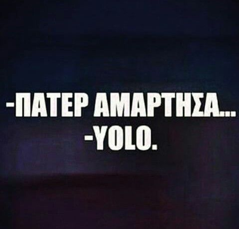 Yolo! !