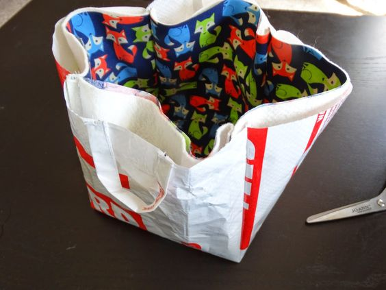 Ro Ro Boat Designs: DIY Tutorial: Fabric Storage Box/Bucket