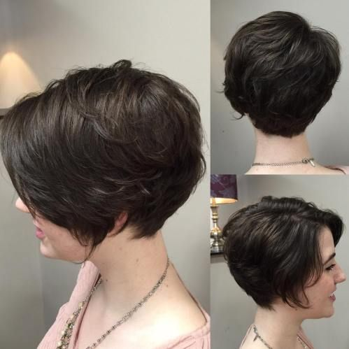 Soft Long Pixie For Wavy Hair Pixie Haircut For Thick Hair Thick Hair Styles Haircut For Thick Hair