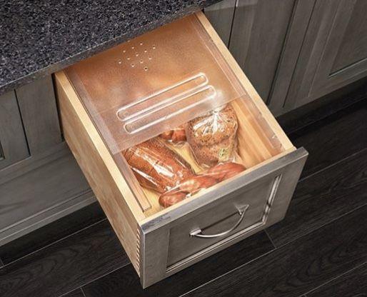 Bread Box Drawer Insert Bread Drawer Rev A Shelf Bread Storage
