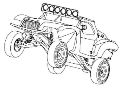 Off Road Coloring Pages Coloring
