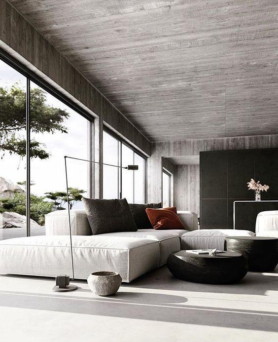 Porus Studio Modern Contemporary Furniture Design Minimalism Interior House Design Minimal Interior Design Latest style living room example