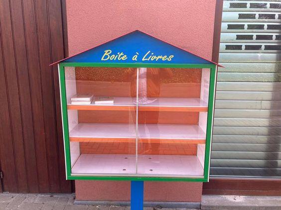 Boîte à livres Awans
