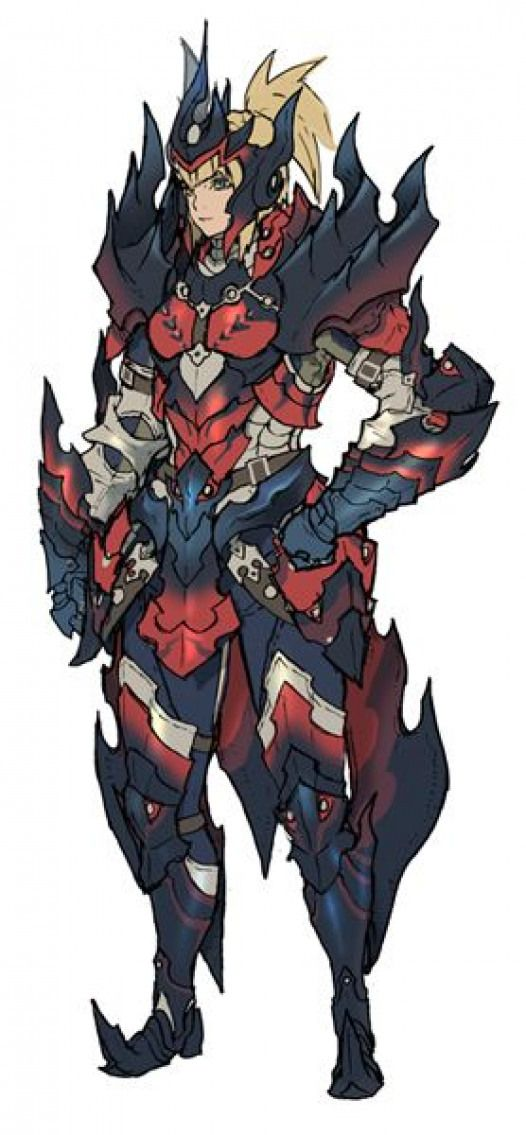 Female Glavenus Armor Monster Hunter Generations Monsterhunter
