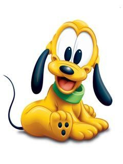 Pluto was my favorite character way back before there were character items galore in our stores.