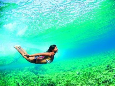swimming in tropical water  #sunburnultimateresort