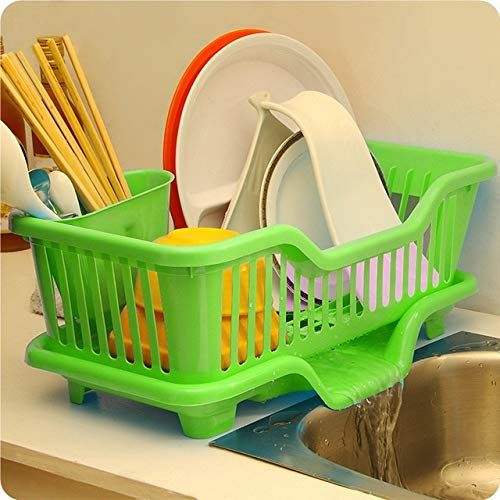 Rachees Plastic Kitchen Sink Dish Drainer Drying Rack Washing