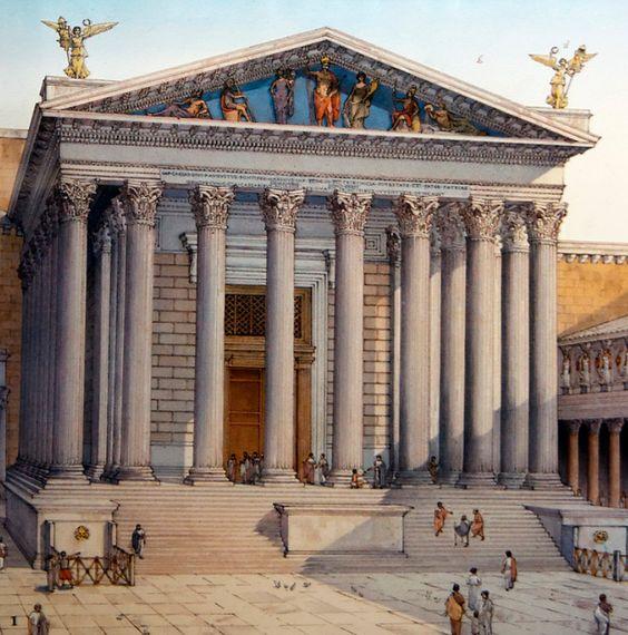 El templo de Marte en Roma