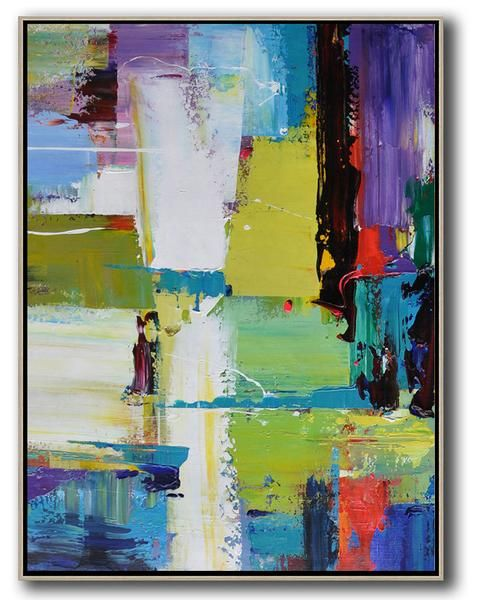 Palette Knife Contemporary Art C2b Abstract Canvas Art