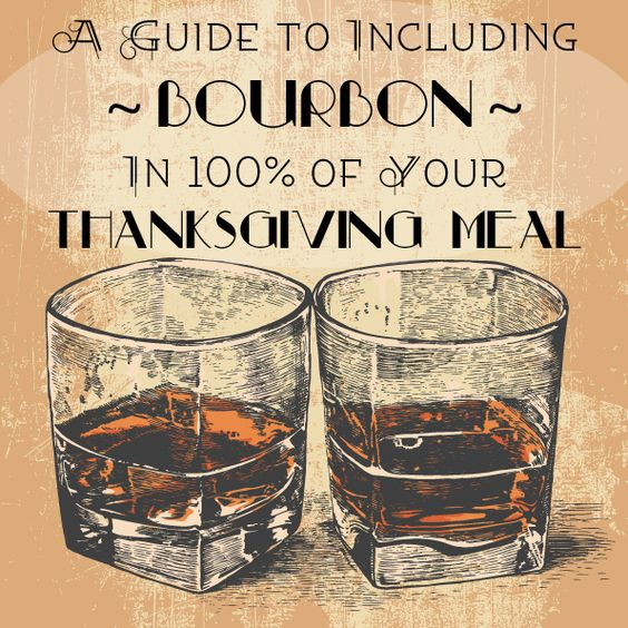 A guide to including bourbon in of your thanksgiving