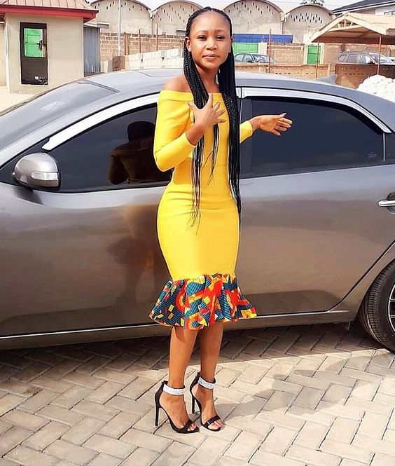 Latest Asoebi Styles of 2019... #kente #fashion #style #asoebi #wedding #women #womenfashion #africanfashion #love