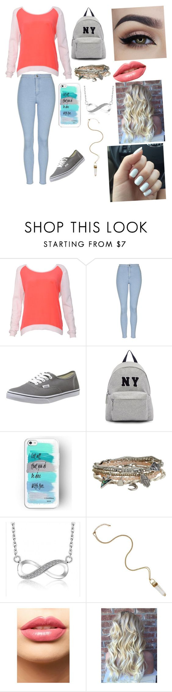 """""""Untitled #29"""" by lukehemmingsgirl851 ❤ liked on Polyvore featuring beauty, Sandro, Topshop, Vans, Joshua's, Aéropostale and LASplash"""