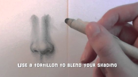 How to draw a nose step by step for beginners
