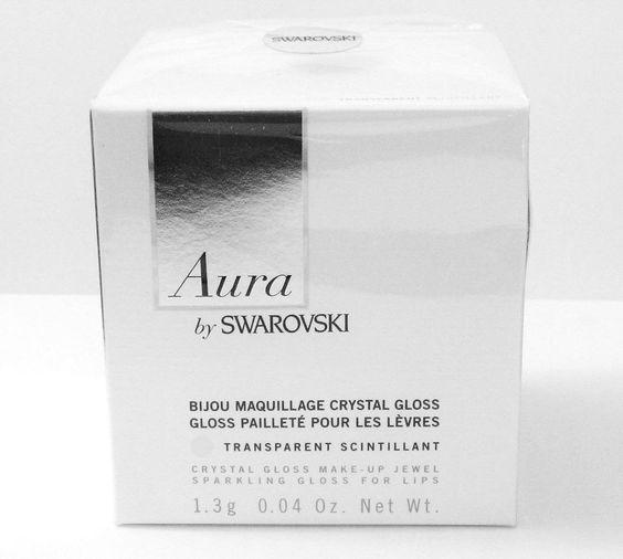 Aura by Swarovski Crystal Gloss Make Up Jewel Sparkling Gloss for Lips New | eBay