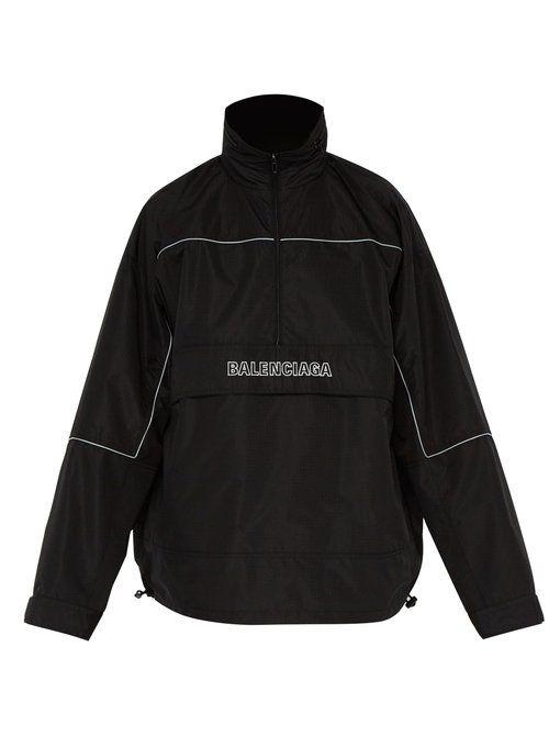 BALENCIAGA Windbreaker ripstop jacket