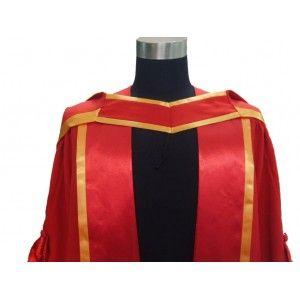 how to wear phd hood