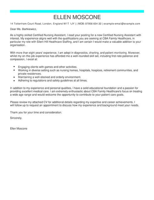 Cover Letter Template Healthcare   2-Cover Letter Template ...