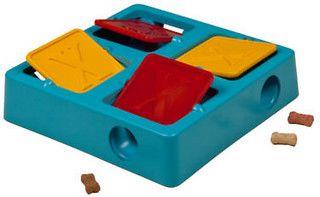 Kyjen Tic-Tac-Twirl Puzzle Dog Toy