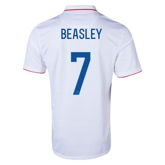 Beasley de Camiseta De EE.UU. de la Seleccion Primera 2014