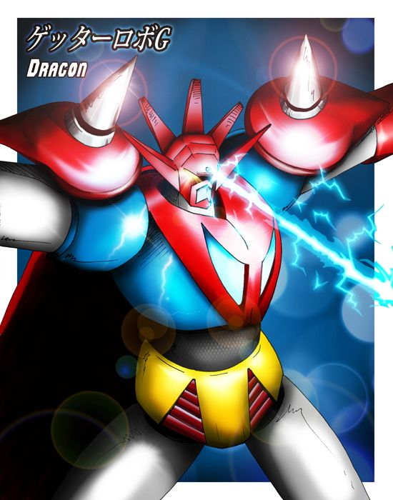Getter Robo G Dragon Ii By Seanyp40 In 2021 Anime Mecha Anime New Voltron