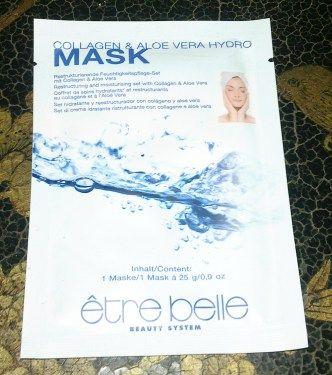 Collagen & Aloe Vera Hydro Maske von etre belle. Maske: Feuchtigkeitspflege mit Collagen & Aloe Vera. Verbessert die Hautelastizität und versorgt sie mit Feuchtigkeit. Für ein frisches, ebe...