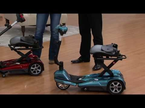 Ev Rider Automatic Folding Scooter With Remote On Qvc Youtube