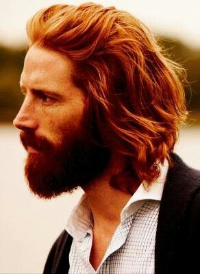 Beautiful hair & beard: