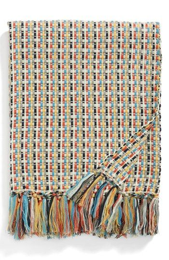 Nordstrom at Home 'Marisol' Woven Throw available at #Nordstrom