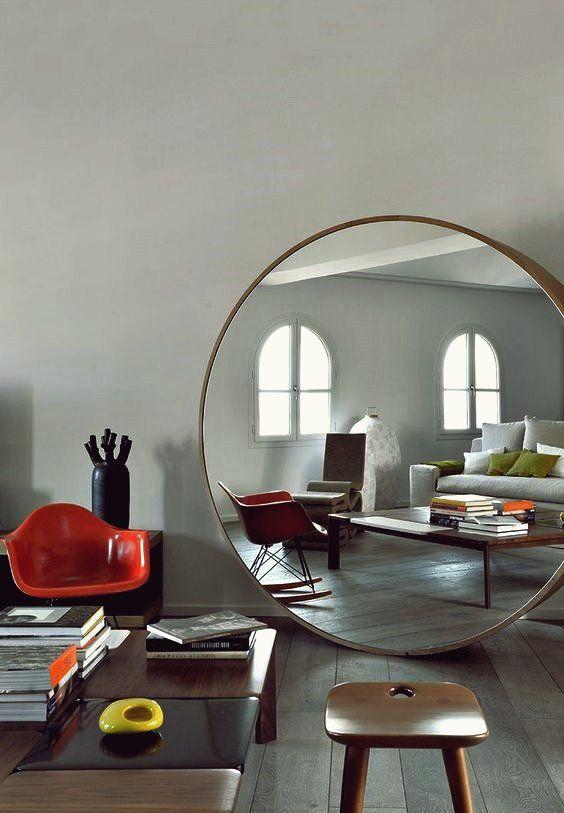 19 Zeitlose Moglichkeiten Ihr Stilvolles Zuhause Mit Ubergrossen Spiegeln Zu Dekorieren Haus Interieurs Zuhause Wohnen