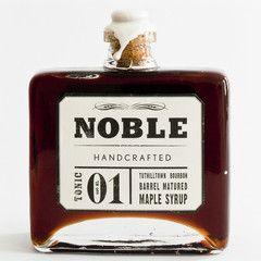 tonic 01: tuthilltown bourbon barrel matured maple syrup