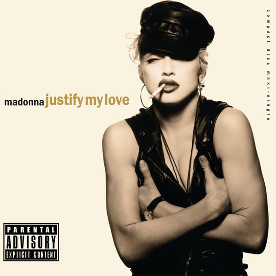 Madonna – Justify My Love (single cover art)