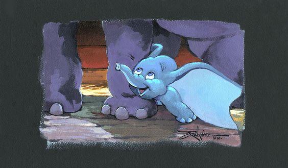 Adorable Dumbo Original